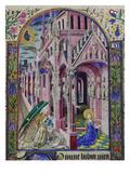 Verkuendigung Mariae. Aus Heures De Louis De Savoie Giclee Print
