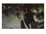 Wild Hunt, about 1889 Giclee Print by Franz von Stuck