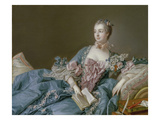 Madame De Pompadour Prints by Francois Boucher