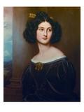 Nanette Kaula.Aus Der Schoenheitengalerie Koenig Ludwigs I. in Schloss Nymphenburg Giclee Print by Joseph Karl Stieler