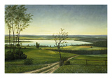 At the Easter Lakes, 1925 Giclee Print by Georg Schrimpf