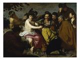 The Drinker (The Triumph of Bacchus/ Los Borrachos), 1628 Giclée-Druck von Diego Velázquez