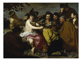The Drinker (The Triumph of Bacchus/ Los Borrachos), 1628 Giclee Print by Diego Velázquez