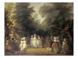 Damen Bei Der Promenade Im St.James's Park London Prints by George Frost