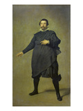 Portrait of the Buffoon Pablo De Valladolid, 1632/34 Giclee Print by Diego Velázquez