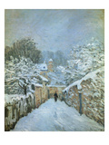Snow at Louveciennes, 1878 Prints by Alfred Sisley