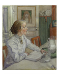 My Eldest Daughter, 1904 Giclee Print by Carl Larsson