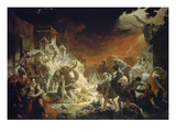 The Last Day of Pompeii, 1833 Giclee Print by Karl Brüllow