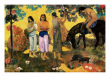 Rupe Rupe (Fruit Gathering), 1899 Poster by Paul Gauguin