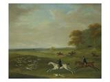 Coursing, 1813 Reproduction procédé giclée par John Nost Sartorius