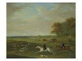 Coursing, 1813 Giclee Print by John Nost Sartorius