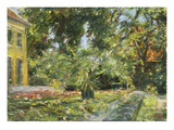 Garden in Wannsee, 1929 Print by Max Liebermann