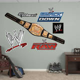 WWE Title Belt Wall Decal