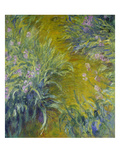 Iris Giclee Print by Claude Monet