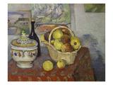 Stilleben Mit Obstkorb Und Suppenterrine 1888/1889 Prints by Paul Cézanne