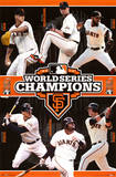 San Francisco Giants 2012 World Series Champions Psters
