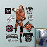 Triple H Wall Decal