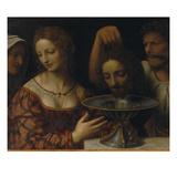 Salome with the Head of St. John the Baptist Art by Bernardino Luini