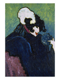 The White Feather, 1909 Art by Alexej Von Jawlensky