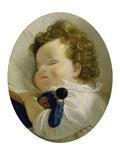 Prinzessin Marie Liechtenstein Als Kind (Kopie Nach Einem Gemaelde Von Amerling) Giclee Print by Joseph Weidner