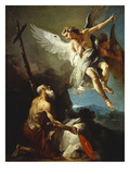 The Vision of Saint Jerome Posters by Giovanni Battista Tiepolo