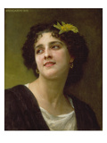 Dark-Haired Beauty, 1898 Posters by William Adolphe Bouguereau