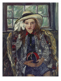 Wilhelmine with Ball, 1915 Prints by Lovis Corinth
