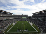 Philadelphia Eagles - Sept 16, 2012: Lincoln Financial Field Print by Michael Perez