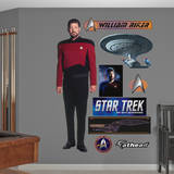 Star Trek Next Generation - Commander William T. Riker Vinilos decorativos