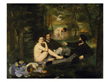 Outdoor Breakfast , 1863 Giclee Print by Édouard Manet