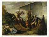 Theseus and Ariadne Giclee Print by Benvenuto Tisi Da Garofalo