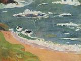 Beach at Le Pouldu, 1889 Prints by Paul Gauguin
