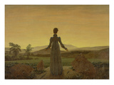 Woman at Dawn, about 1818 Art by Caspar David Friedrich