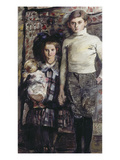 Thomas and Wilhelmine, 1916 Giclee Print by Lovis Corinth