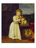 Clarissa Strozzi Aged 2 Years, 1542 Posters by  Titian (Tiziano Vecelli)