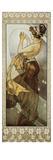 Sterne: Der Polarstern, 1902. (Variante B) Prints by Alphonse Mucha