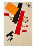 Dynamic Suprematism, 1916 Giclée-tryk af Kasimir Malevich