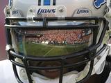 Detroit Lions - Sept 16, 2012: Calvin Johnson Fotografisk trykk av Tony Avelar