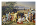 The Appearance of Christ to the People (The Appearance of the Messiah), 1837/57 Giclee Print by Alexander Iwanow