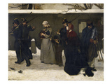 The Arrest of the Hoboes. before 1855 Prints by Alfred Emile Léopold Stevens