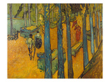 The Alyscamps, Arles, 1888 Giclee Print by Vincent van Gogh