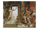 Joseph Interpreting Pharaoh's Dream, 1894 Giclee Print by Reginald Arthur