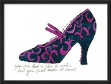 Blue and Pink Shoe, c.1955 Posters by Andy Warhol