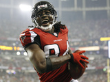 Atlanta Falcons - Sept 17, 2012: Roddy White Photographic Print by David Goldman