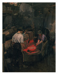 In the Boiler Shop, 1913 Giclee Print by Dominik Skutecky