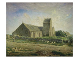 The Church at Gréville, 1871/1874 Poster by Jean-François Millet
