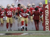 San Francisco 49Ers - Sept 16, 2012: the 49Ers Take the Field Prints by Marcio Jose Sanchez