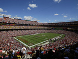Washington Redskins - Sept 23, 2012: FedEx Field Bilder av Alex Brandon