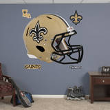 New Orleans Saints Revolution Helmet Wall Decal