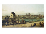 Munich Seen from Haidhausen, about 1761 Giclee Print by Bernardo Bellotto